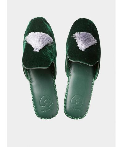 Women's Classic Handmade Slipper - Green