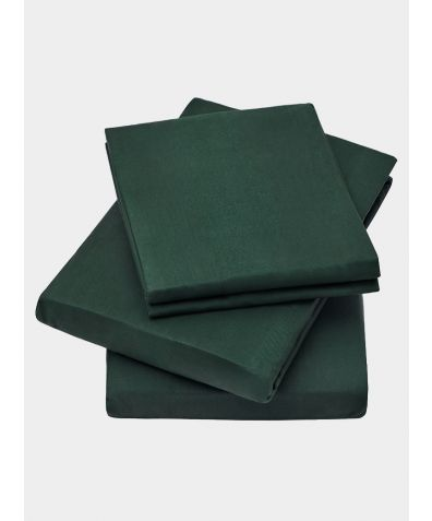 600 Thread Count Egyptian Cotton Fitted Sheet - Green