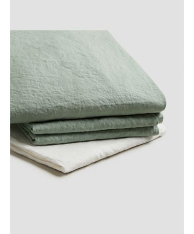 Linen Basic Bundle - Sage Green