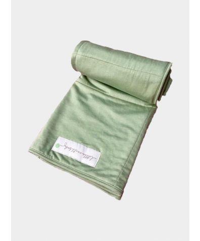 Bamboo Baby Blanket - Emerald Green