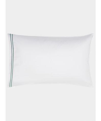 Cairo 600 Thread Count Egyptian Cotton Housewife Pillowcase - Green