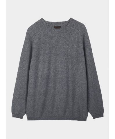 Unisex Cashmere Travel Pullover - Grey