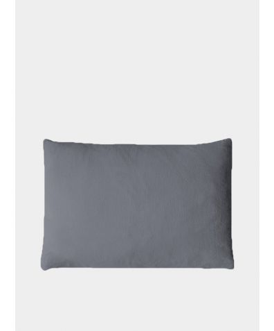Linen Mini Cushion Cover - Charcoal