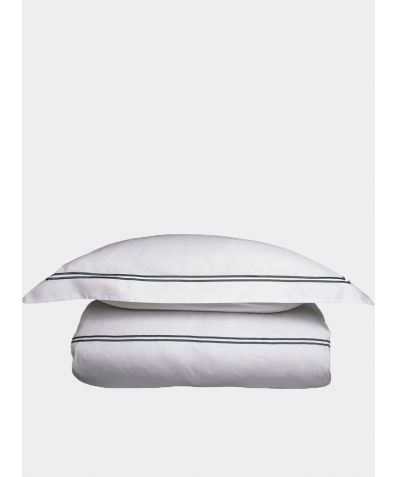 300 Thread Count Cotton Sateen Flat Sheet - Dove