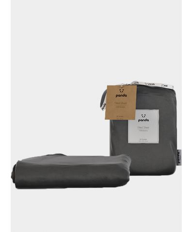 Bamboo Fitted Sheet - Urban Grey