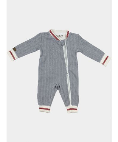 Organic Cottage Collection Playsuit - Grey