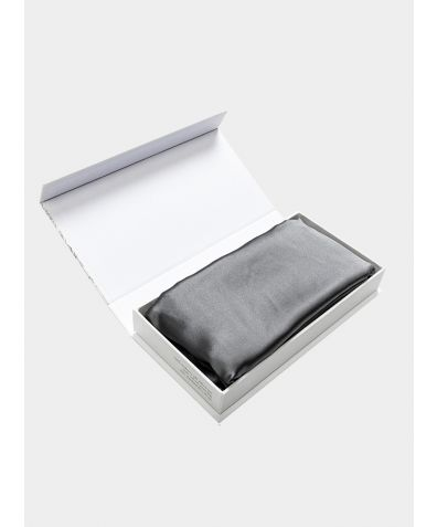 Oxford Mulberry Silk Pillowcase - Grey