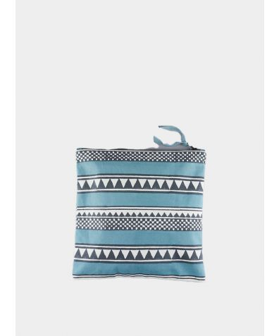 Canvas Wash Bag - Sankari Stripe