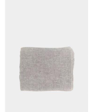 Linen Waffle Towel - Grey