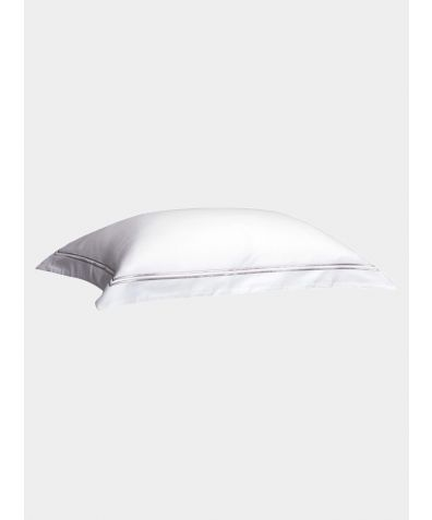 300 Thread Count Cotton Pillowcase - Platinum