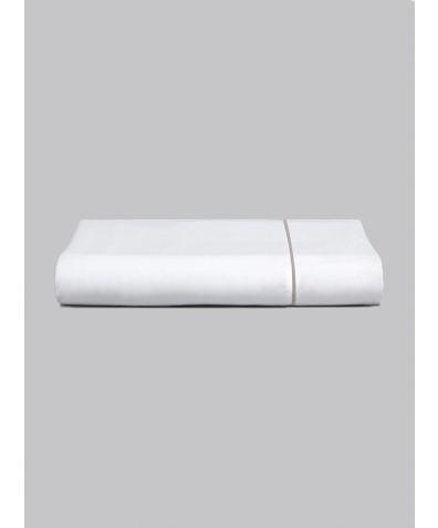 Chika 300 Thread Count Cotton Flat Sheet - Grey