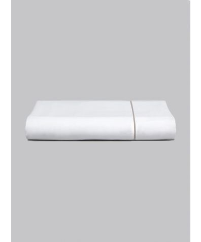 Chika 300 Thread Count Cotton Fitted Sheet - Grey