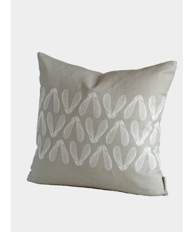 Sycamore Seed Cushion, London Grey