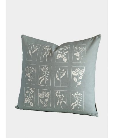 Hedgerow Cushion, Soft Sage
