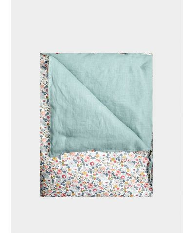 Liberty Heirloom Quilt - Betsy Grey & Turquoise