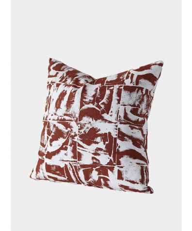 Bloc: Terracotta Cushion