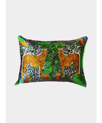 Silk Pillowcase - Hot Cheetah