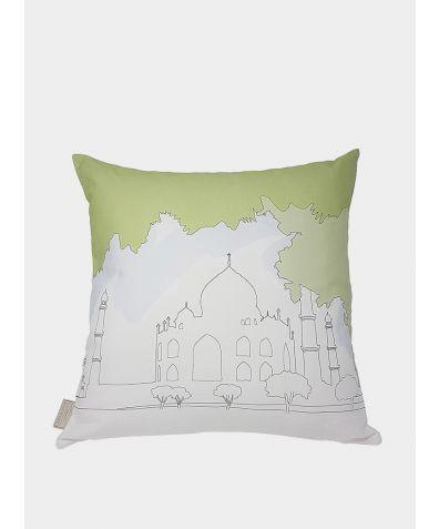 Cityscape Cushion - India