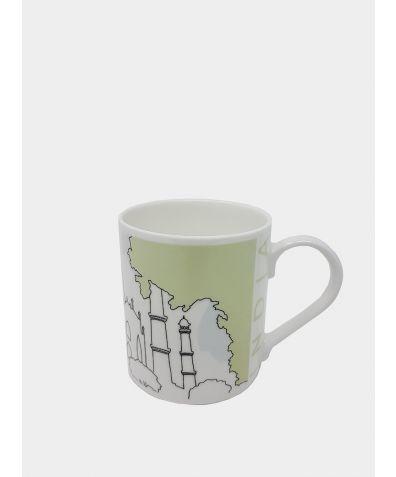 Cityscape Mug - India