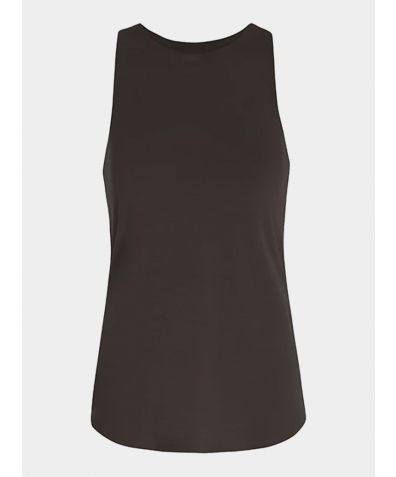 Isle Knot Vest Top - Charcoal Grey