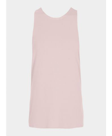Isle Knot Vest Top - Dusty Pink