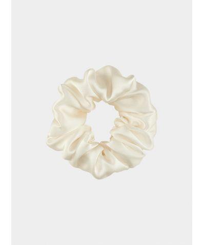 Silk Scrunchie - Ivory