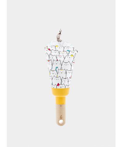 Nomadic Lamp - Cats Yellow