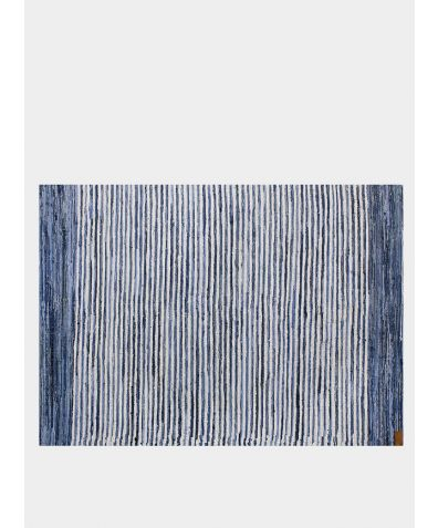 Upcycled Handwoven Rug - Jean Genie