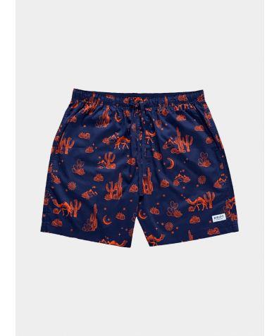 Mens Cotton Pyjama Shorts - Kalahari Nights