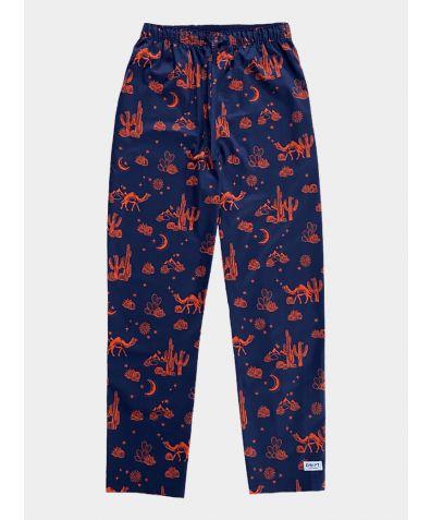 Mens Cotton Pyjama Trousers - Kalahari Nights