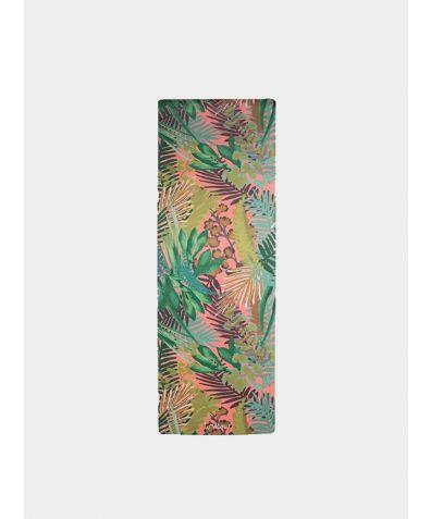Kew Tropics - Hot Pink Yoga Mat