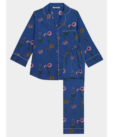 Women's Maternity Cotton Pyjama Trouser Set - Healing Flowers