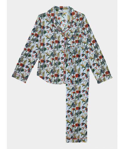 Women's Cotton Pyjama Trouser Set - Harvest Hedge (COMING SOON)