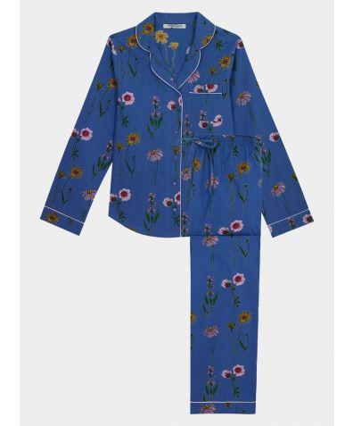Women's Cotton Pyjama Trouser Set - Healing Flowers (COMING SOON)