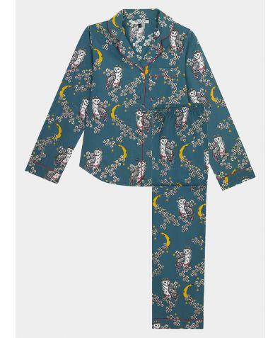 Women's Cotton Pyjama Trouser Set - Owl Moon (COMING SOON)