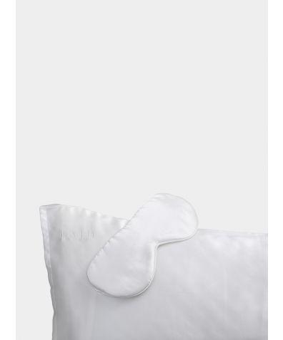 Silk Sleep Set - Ivory White