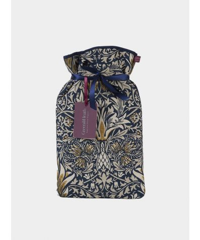 Large Hot Water Bottle - William Morris Snakeshead