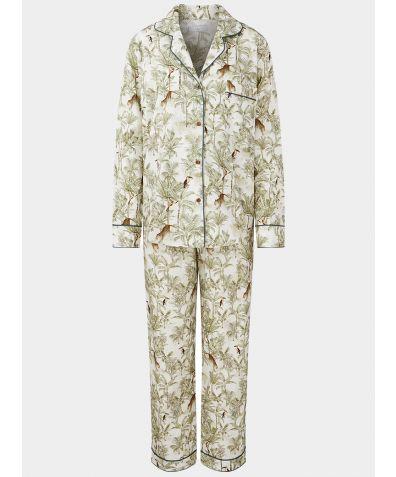 Women's Organic Cotton Pyjama Trouser Set - La Selva