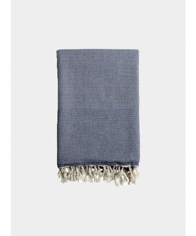 Ekin Blanket & Throw - Denim