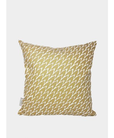 Leaf Cushions - Gold