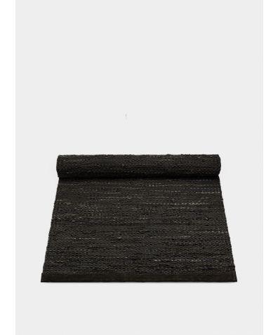 Leather Rug - Choco