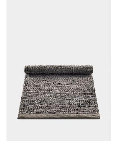 Leather Rug - Wood