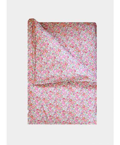 Liberty Print Duvet Cover - Betsy Fuchsia