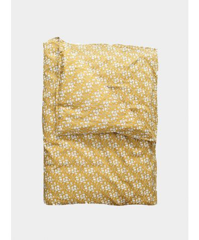 Liberty Print Bedding Set - Capel Mustard