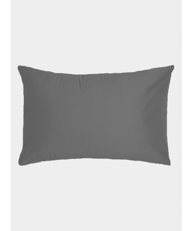 500 Thread Count Cotton Sateen Pillowcases (Pair) - Deep Grey