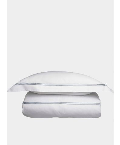 300 Thread Count Cotton Sateen Duvet Cover - Platinum