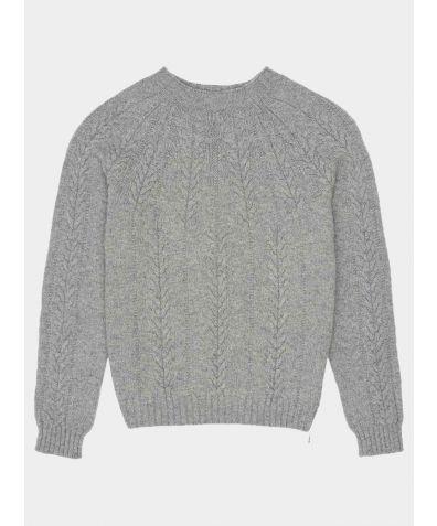 Wroxton Lambswool Jumper - Grey