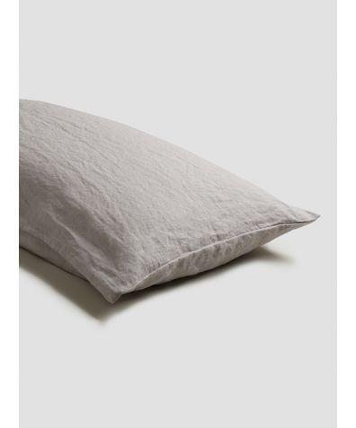 Linen Pillowcases (Pair) - Dove Grey