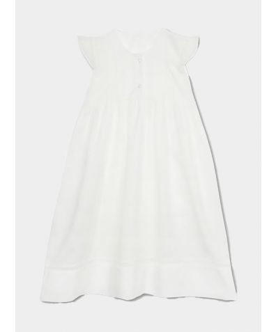 Liliana Cotton Nightdress - White