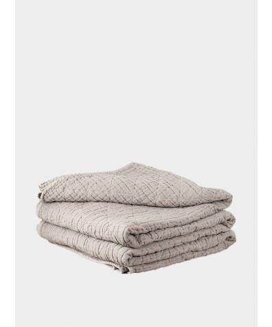 Lilla Mattelasse Bedspread - Taupe